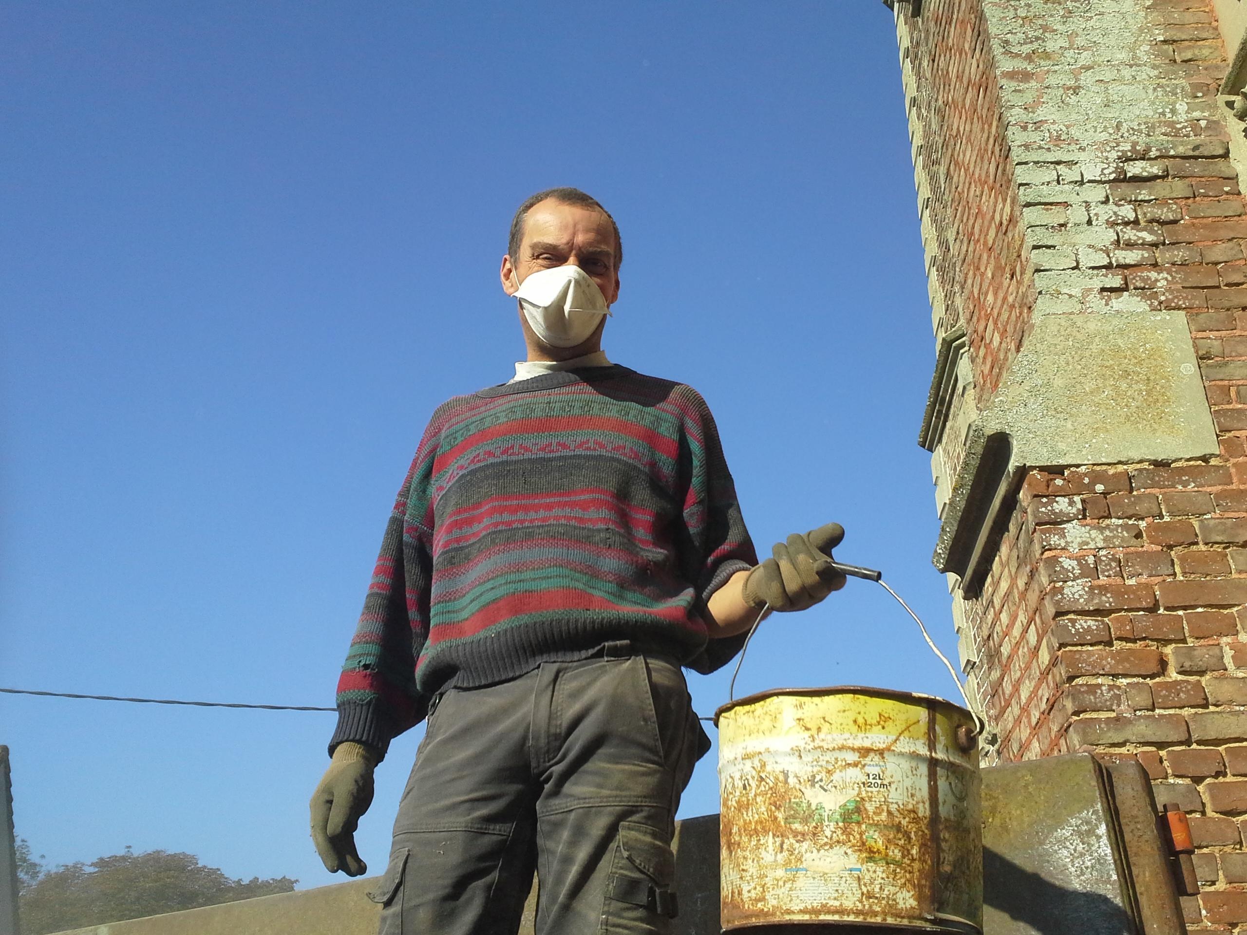 chantier nettoyage eglise havernas