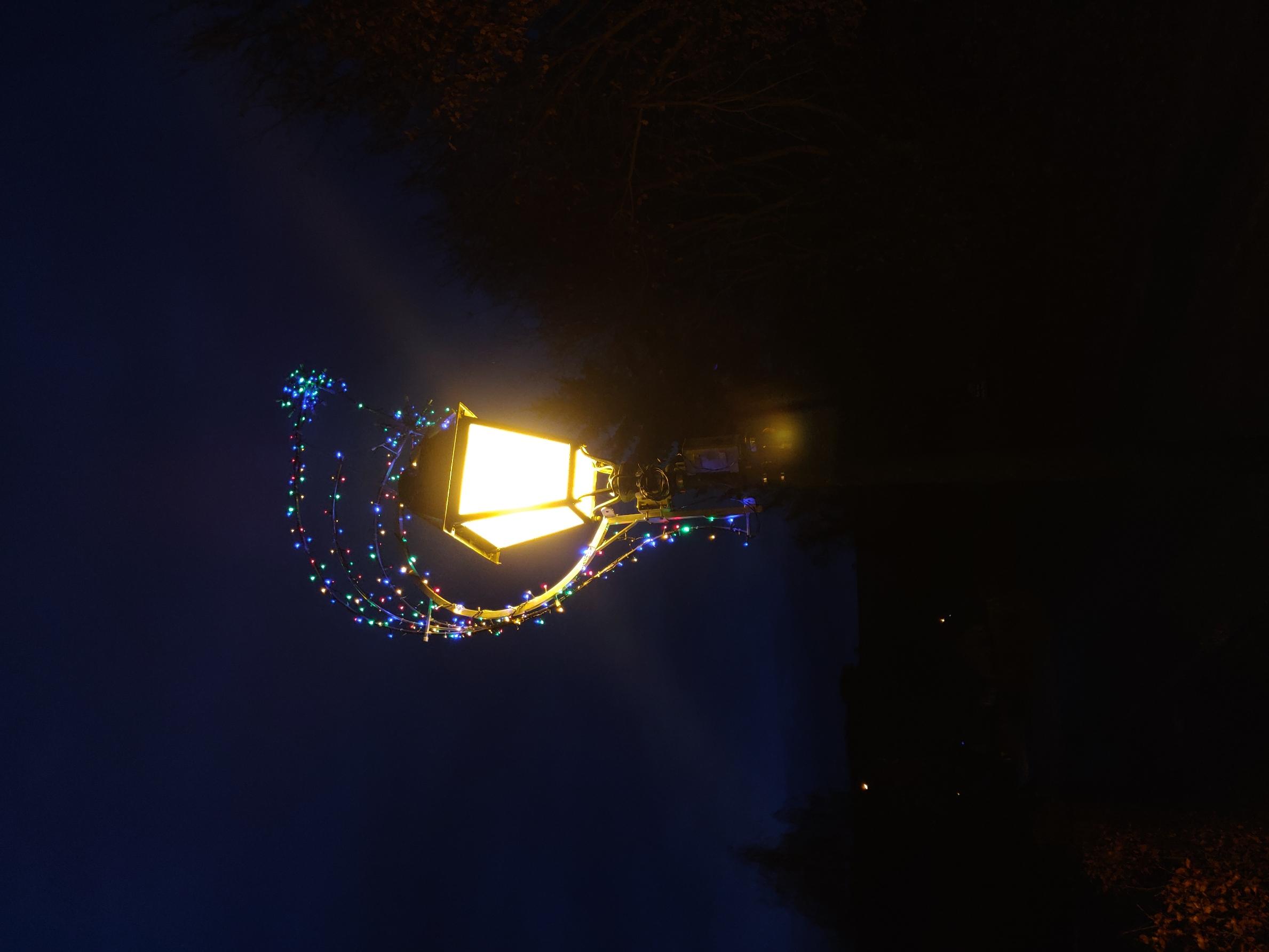illuminations décorations Noël havernas